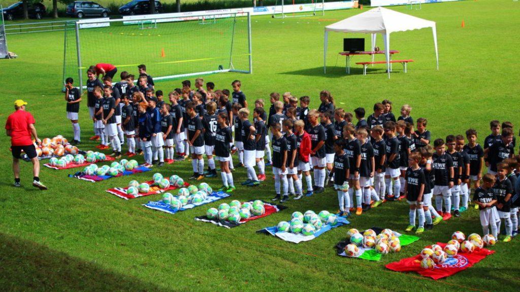 Fußballcamp 2018 Kids